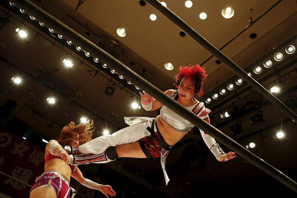 ¿Sexo débil?: Lucha libre de mujeres en Japón