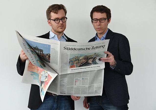 El periódico Sueddeutsche Zeitung