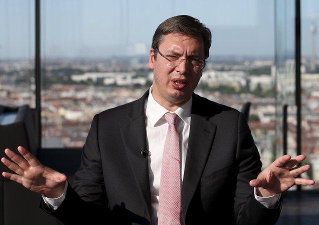 Alexandar Vucic, primer ministro de Serbia
