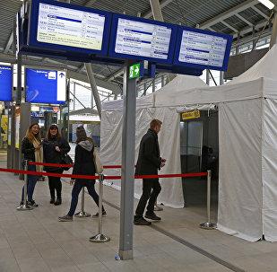 Referéndum sobre la asociación entre Ucrania y la UE en Utrecht, los Países Bajos