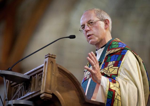 El arzobispo de Canterbury Justin Welby