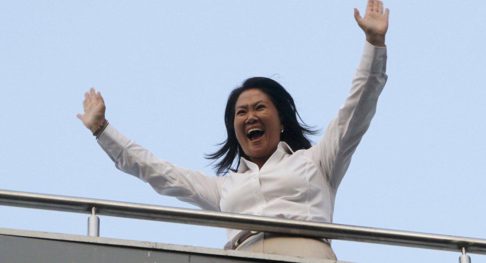 Keiko Fujimori, candidata a la Presidencia de Perú