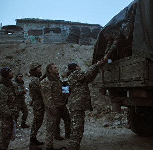 Militares de Nagorno Karabaj (archivo)