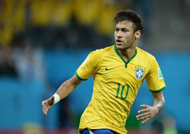 Neymar, delantero brasileño