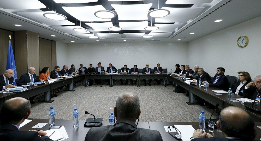 Negociaciones interisirias en Ginebra