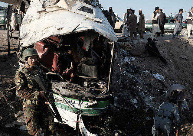 Lugar de la explosión en Jalalabad (archivo)