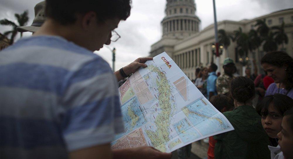 Un turista en la Habana, Cuba (archivo)