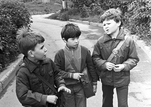 Niños (Archivo)
