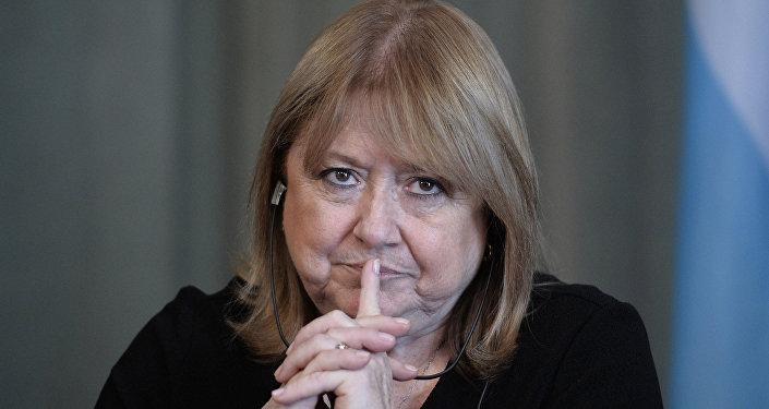 Susana Malcorra, canciller argentina