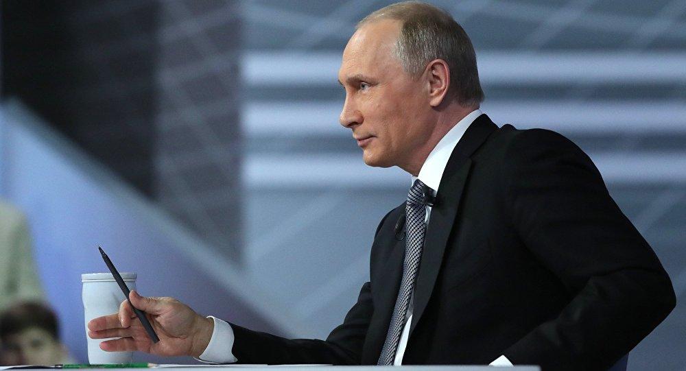 Línea directa con Vladímir Putin, 2016