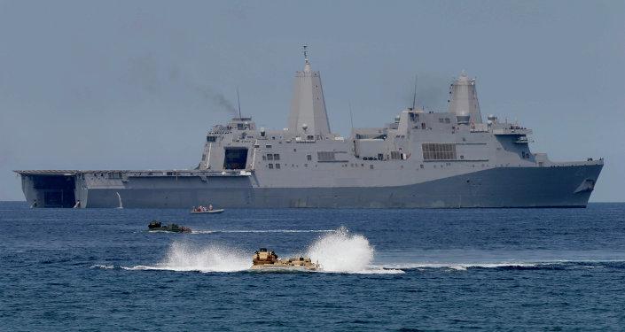 Maniobras conjuntas de EEUU y Filipinas en el Mar de la China Meridional