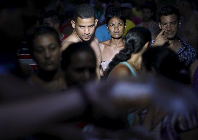 Migrantes centreoamericanos (archivo)