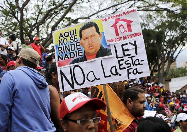 Marcha contra ley de vivienda, Venezuela