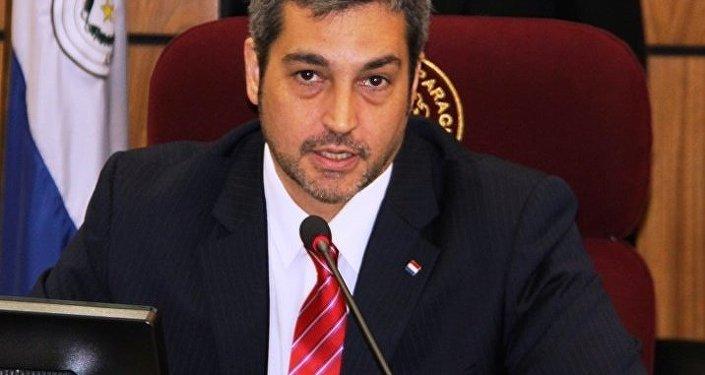 Mario Abdo Benítez, Presidente de la Cámara de Senadores de Paraguay.