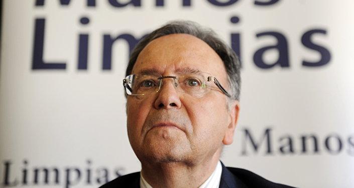 Miguel Bernad, dirigente del sindicato ultraderechista Manos Limpias