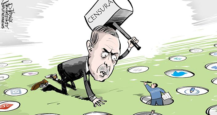 "La incansable lucha de Erdogan: ""¡No se expresarán!"""