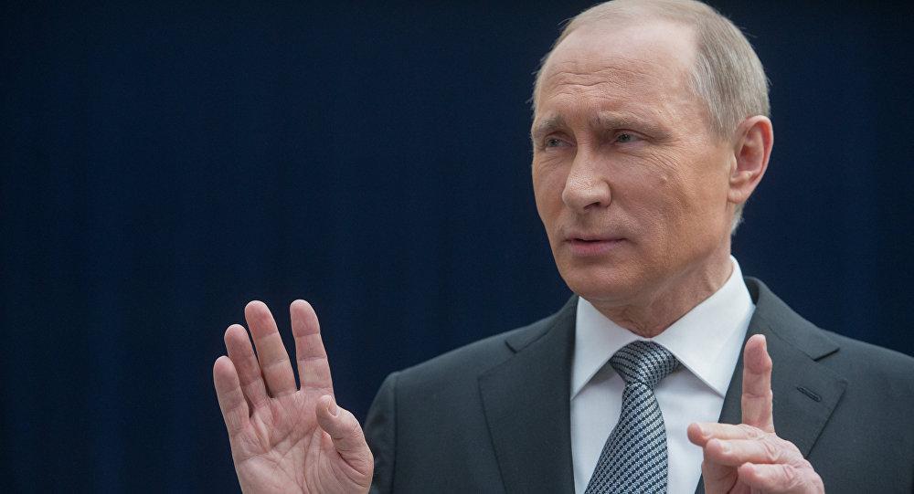 Vladíimr Putin, presidente de Rusia