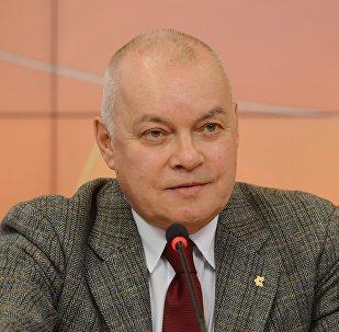 Dmitri Kiseliov, director general de la agencia Rossiya Segodnya
