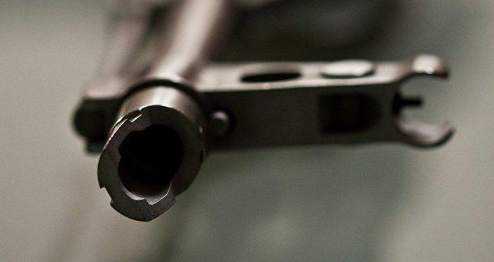 Un fusil de asalto