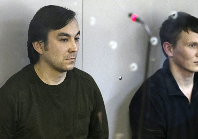 Evgueni Eroféev y Alexandr Alexándrov, declarados culpables en Ucrania de actividades terroristas
