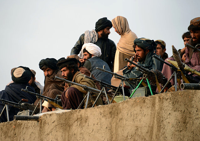 Talibanes en Afganistán (archivo)