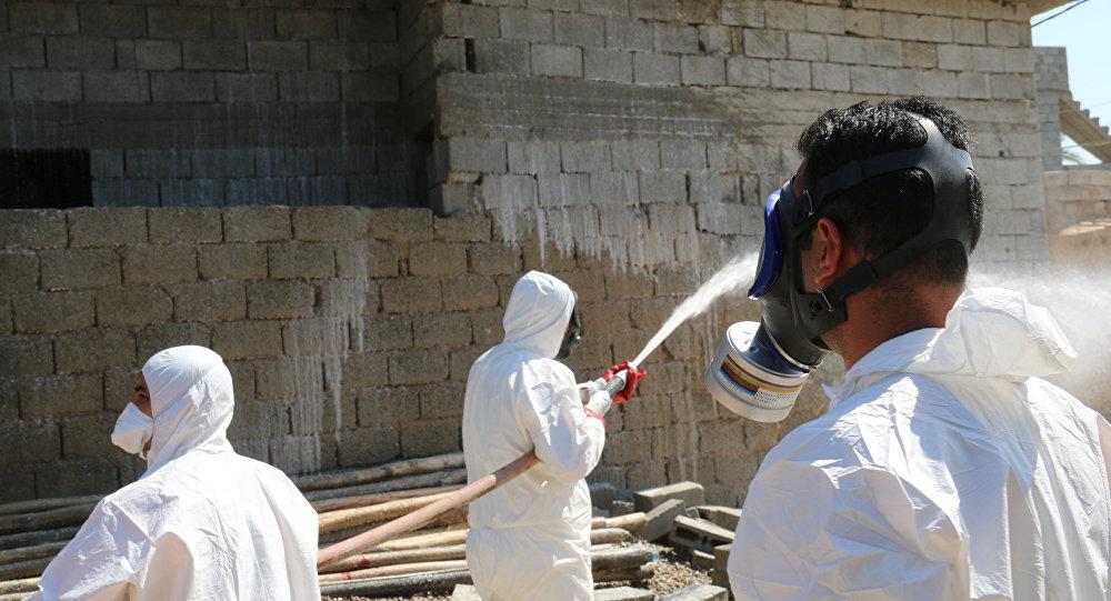Consecuencias del ataque con armas químicas en la ciudad iraquí de Taza (archivo)
