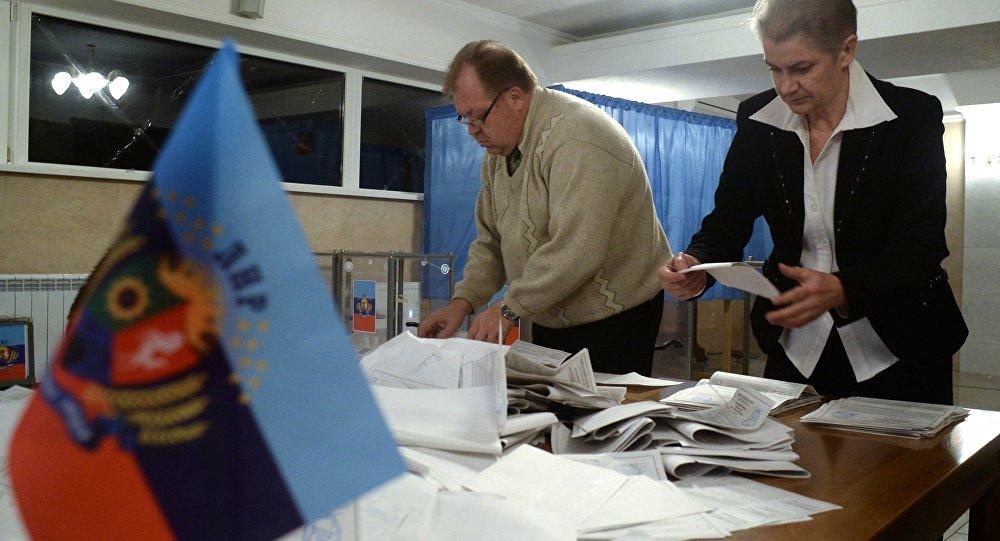 Elecciones en la autoproclamada República Popular de Lugansk (archivo)