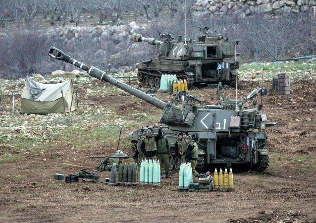 Las fuerzas israelíes en los Altos del Golán