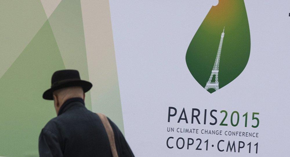 Convención Marco de las Naciones Unidas sobre el Cambio Climático en París (archivo)