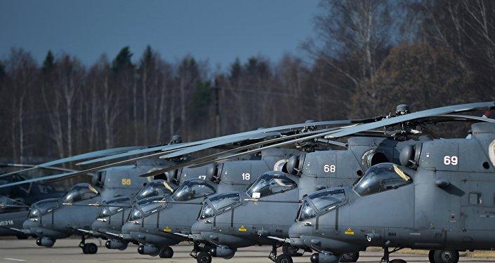 Helicópteros Mi-35 rusos