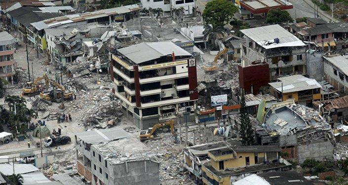 Ecuador después del terremoto