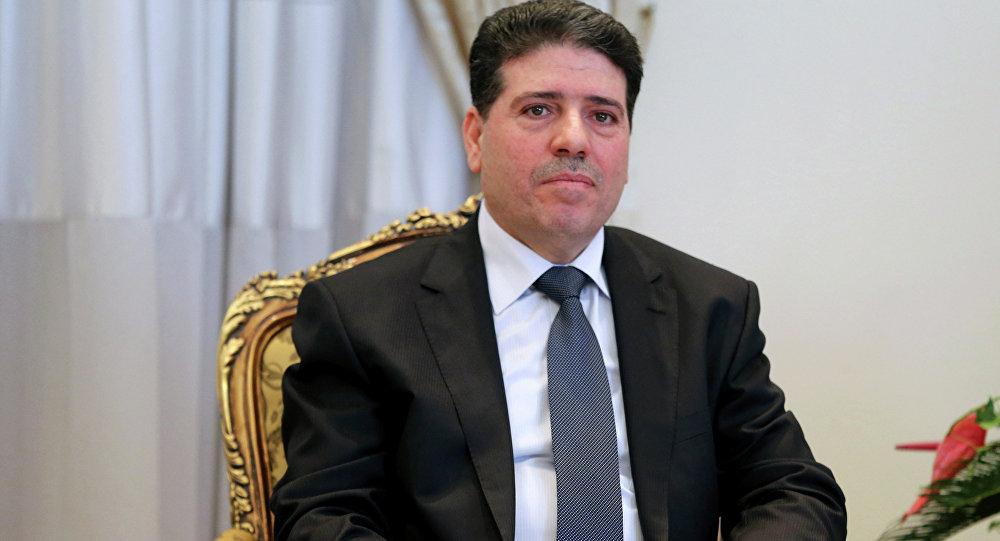 Wael Nader al-Halqi, el primer ministro sirio