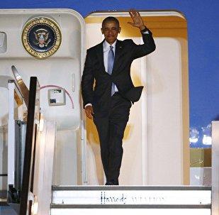 Barack Obama. el presidente de EEUUl lega a Londres