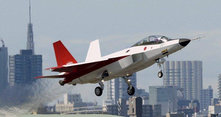 El prototipo del caza furtivo japonés, X-2 Shinshin