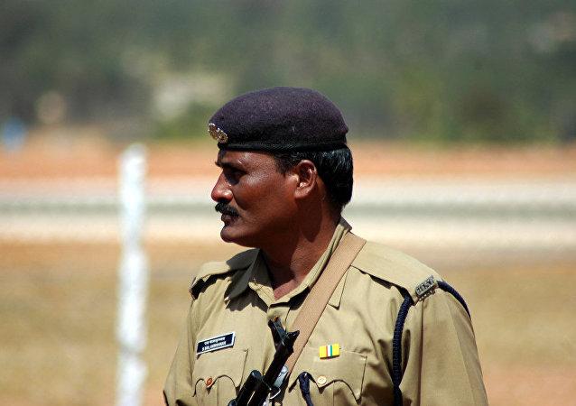 Polícia indiana