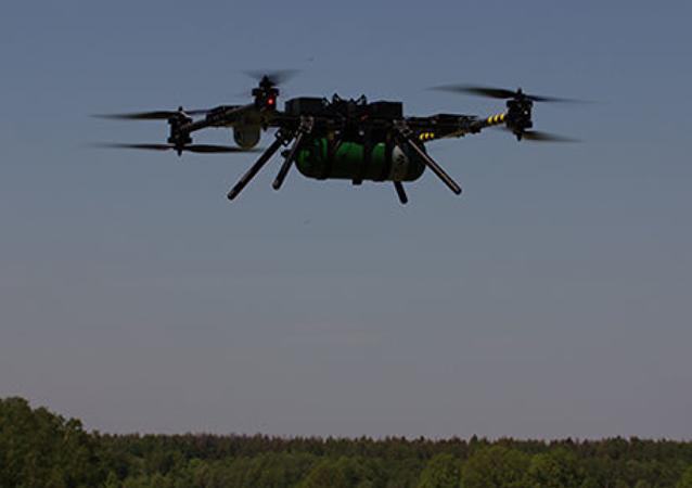 El dron, diseñado por la empresa rusa NELK