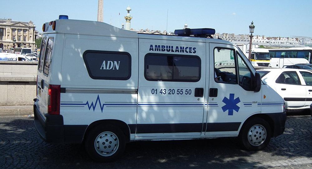 Vehículo de ambulancia en Francia (archivo)