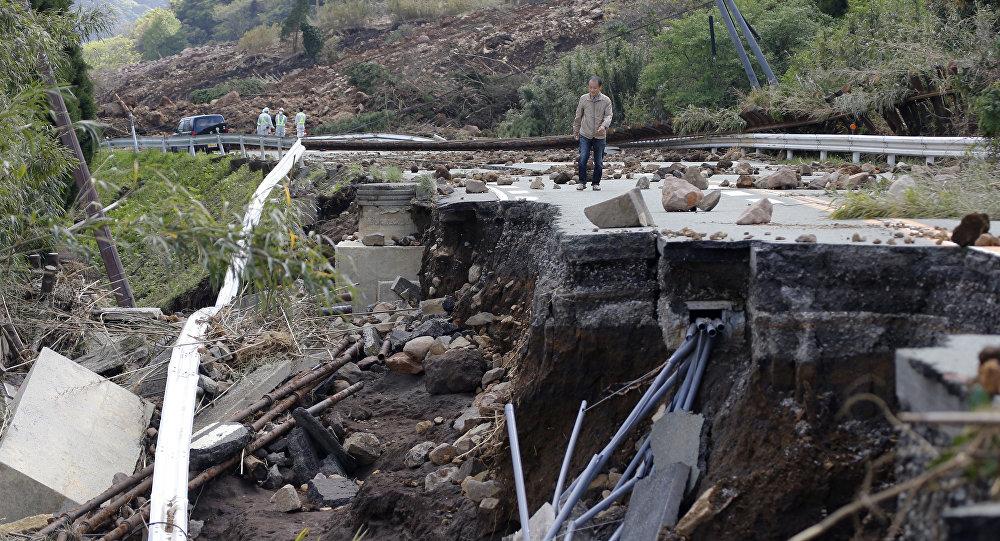 Consecuencias de los terremotos en Kumamoto
