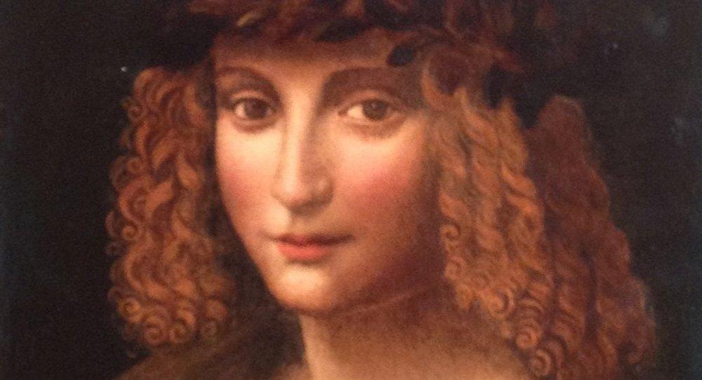 Retrato de Gian Giacomo Caprotti (1480 – 1524), pintor italiano