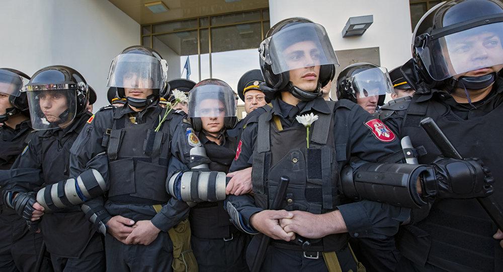 Policía de Moldavia, archivo