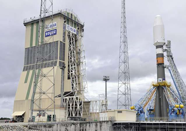 Cohete portador Soyuz, la base espacial de Kourou