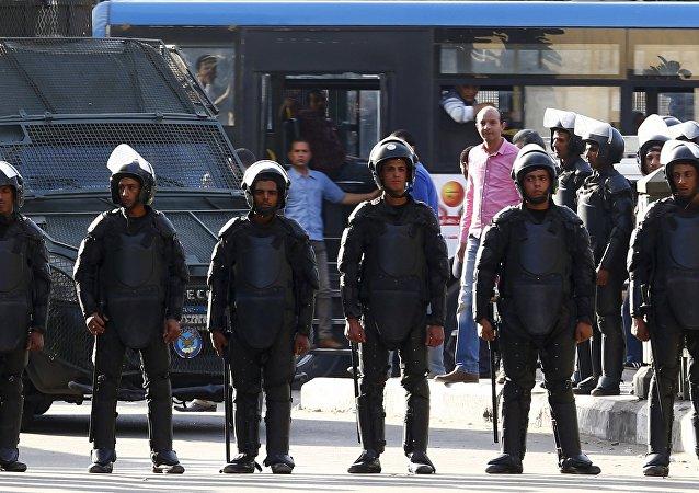 Policía egipcia