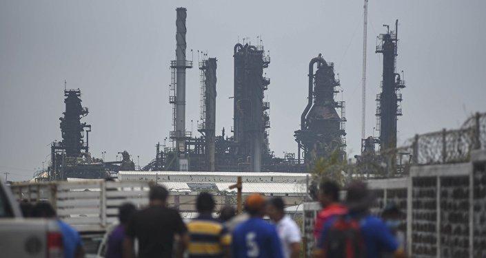 Explosión en una planta petrolera en México