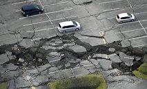 Consecuencias de un terremoto en Japón