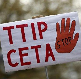 Manifestaciones en contra del TTIP y el CETA