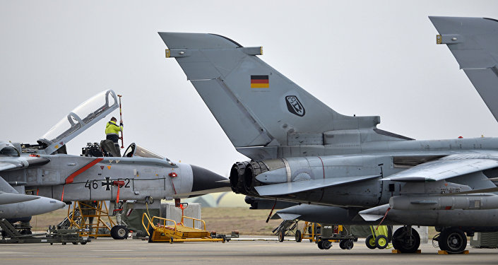 Cazas Tornado en la base aérea de Incirlik (Archivo)