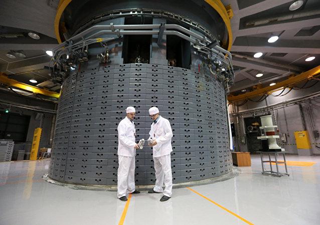 Instalación nuclear (Archivo)