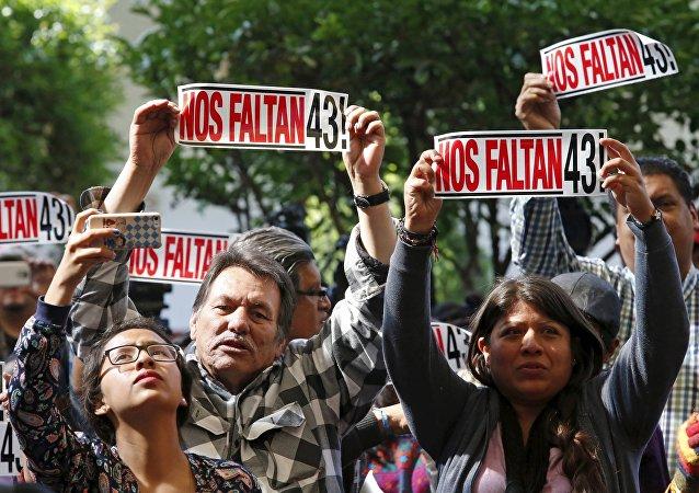 El caso de desaparición forzada de 43 estudiantes en Iguala