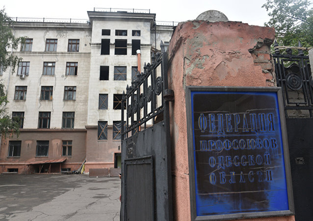 Casa de los Sindicatos en Odesa