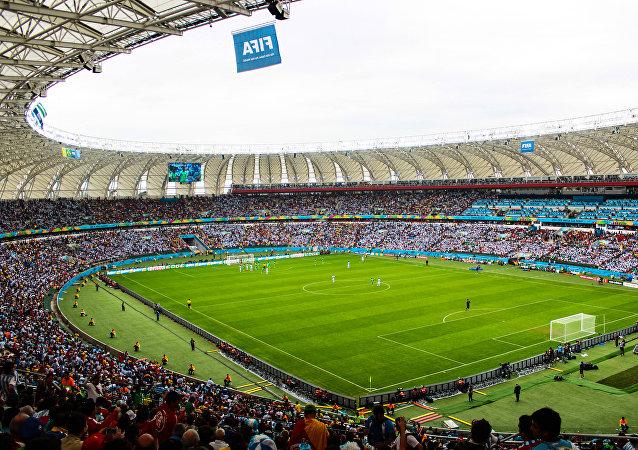 Argentina x Nigeria. Copa Mundial de Fútbol de 2014.